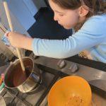 Chocoladetaart bakken met kinderen!