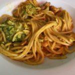 Makkelijke pasta met kip en broccoli